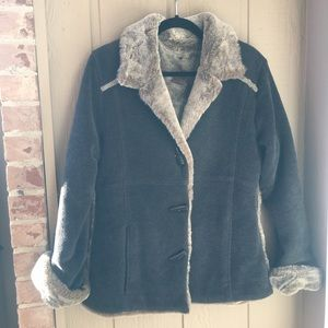 Fjallraven women's winter jacket toggle front S